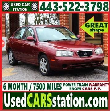2001 Hyundai Elantra for sale in Manchester, MD