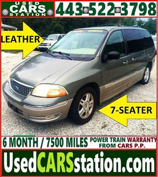 Used Ford Windstar For Sale In Maryland Carsforsale Com