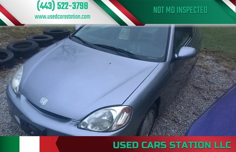 2002 Honda Insight for sale in Manchester, MD
