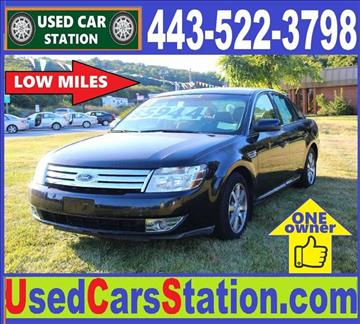 2008 Ford Taurus for sale in Manchester, MD