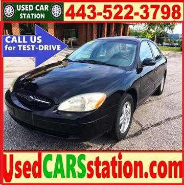 2002 Ford Taurus for sale in Manchester, MD