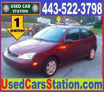 2007 Ford Focus for sale in Manchester, MD