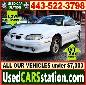 1997 Pontiac Grand Am for sale in Manchester, MD