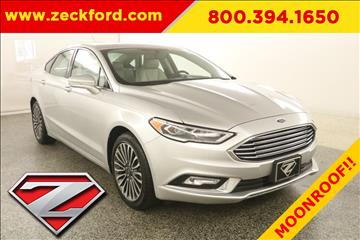 2017 Ford Fusion for sale in Leavenworth, KS