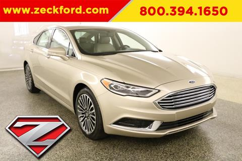 2018 Ford Fusion for sale in Leavenworth, KS