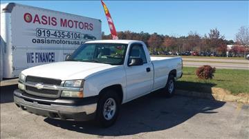 2004 Chevrolet Silverado 1500 for sale in Wake Forest, NC