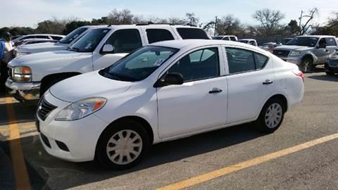 2012 Nissan Versa for sale in San Antonio, TX