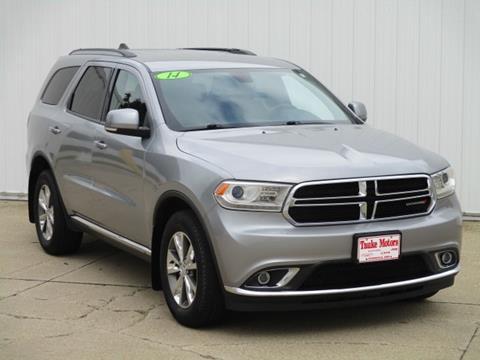 2014 Dodge Durango for sale in Dyersville, IA