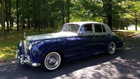 1959 Rolls-Royce Silver Cloud 1 for sale at PALMA CLASSIC CARS, LLC. in Audubon NJ