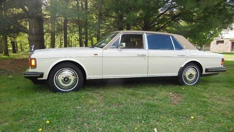 1988 Rolls-Royce Silver Spur for sale at PALMA CLASSIC CARS, LLC. in Audubon NJ