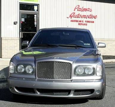 2003 Bentley Arnage for sale at PALMA CLASSIC CARS, LLC. in Audubon NJ