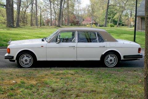 1986 Rolls-Royce Silver Spur 2 for sale at PALMA CLASSIC CARS, LLC. in Audubon NJ