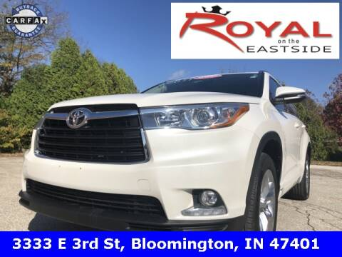 2016 Toyota Highlander for sale in Bloomington, IN