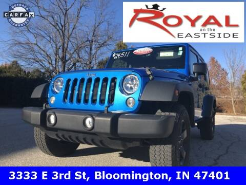 2015 Jeep Wrangler Unlimited for sale in Bloomington, IN
