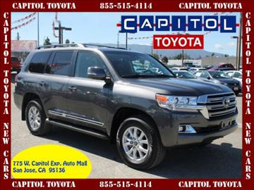 2017 Toyota Land Cruiser for sale in San Jose, CA