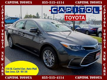 2017 Toyota Avalon Hybrid for sale in San Jose, CA