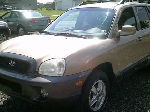 2004 Hyundai Santa Fe for sale in Hilton, NY
