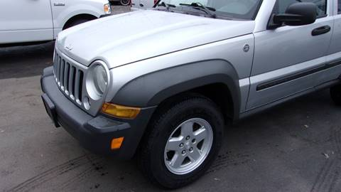 2007 Jeep Liberty Sport for sale at Eagle's Wings Auto Sales in Hilton NY