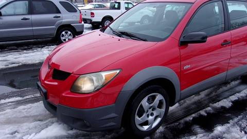 2003 Pontiac Vibe for sale at Eagle's Wings Auto Sales in Hilton NY