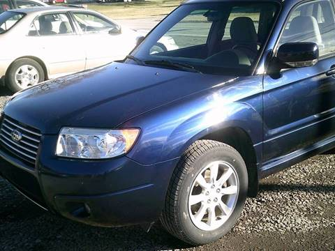 2006 Subaru Forester for sale in Hilton, NY