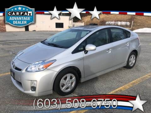2010 Toyota Prius for sale at J & E AUTOMALL in Pelham NH