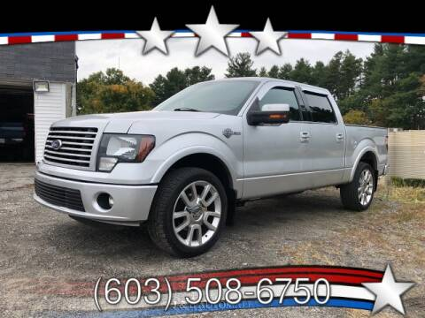 2011 Ford F-150 for sale at J & E AUTOMALL in Pelham NH