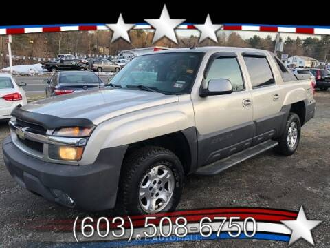 2004 Chevrolet Avalanche for sale at J & E AUTOMALL in Pelham NH