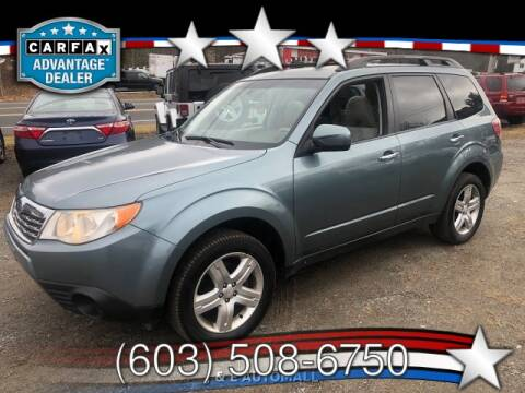 2010 Subaru Forester for sale at J & E AUTOMALL in Pelham NH