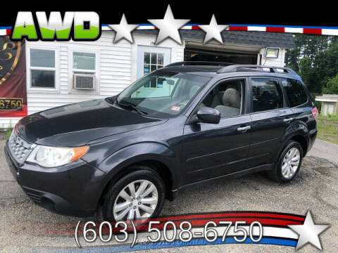 2011 Subaru Forester for sale at J & E AUTOMALL in Pelham NH