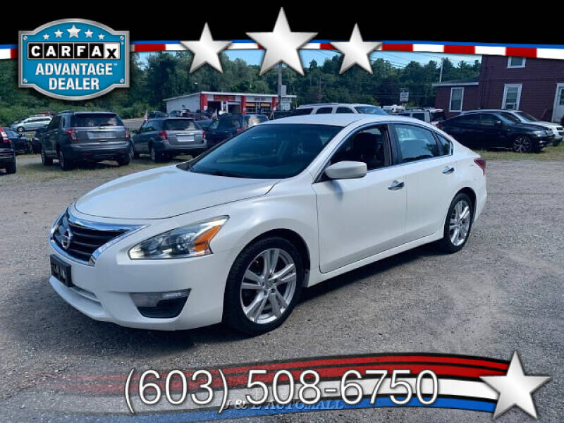 2013 Nissan Altima for sale at J & E AUTOMALL in Pelham NH