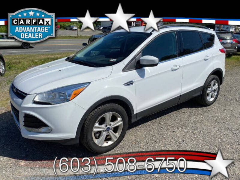 2016 Ford Escape for sale at J & E AUTOMALL in Pelham NH