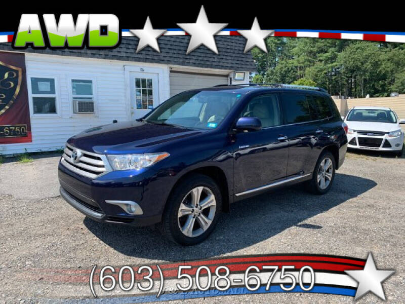 2012 Toyota Highlander for sale at J & E AUTOMALL in Pelham NH