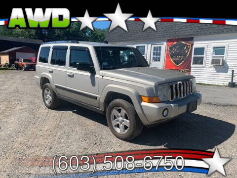2007 Jeep Commander for sale at J & E AUTOMALL in Pelham NH