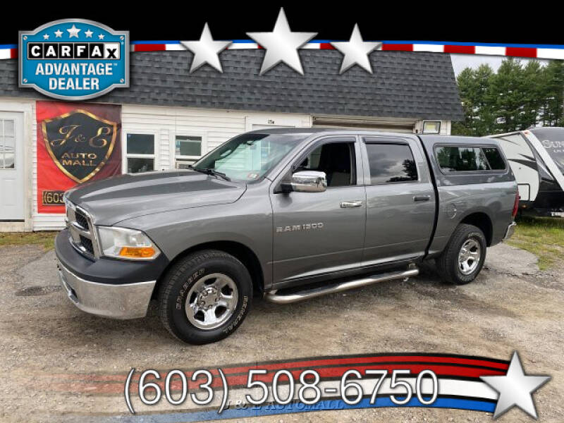 2011 RAM Ram Pickup 1500 for sale at J & E AUTOMALL in Pelham NH