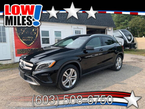 2015 Mercedes-Benz GLA for sale at J & E AUTOMALL in Pelham NH