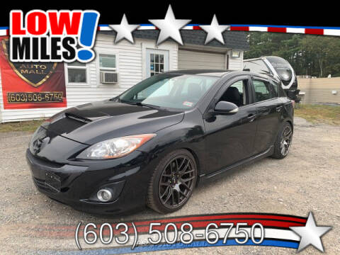 2010 Mazda MAZDASPEED3 for sale at J & E AUTOMALL in Pelham NH