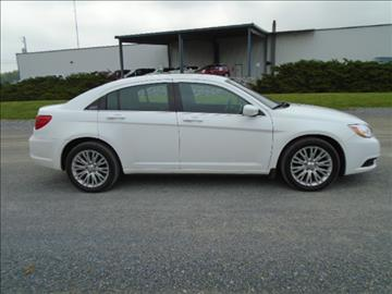 2012 Chrysler 200 for sale in Shippensburg, PA