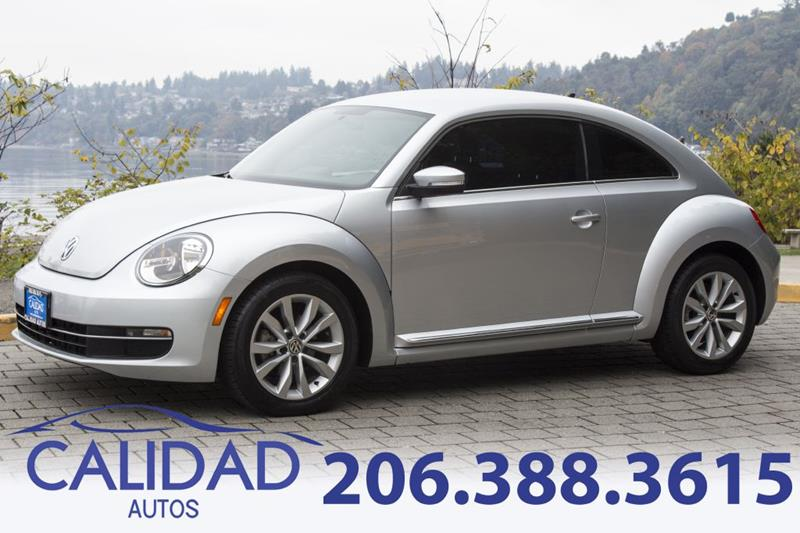 2014 Volkswagen Beetle Tdi 2dr Coupe 6a In Burien Wa Calidad Autos