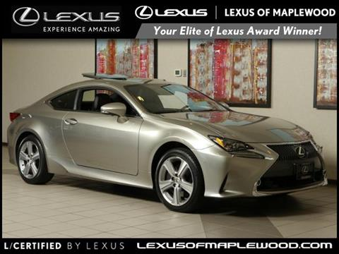 2016 Lexus RC 300 for sale in Maplewood, MN
