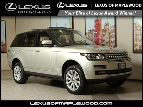 2014 Land Rover Range Rover for sale in Maplewood, MN