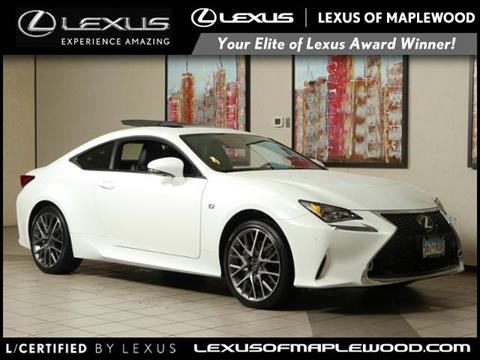 2015 Lexus RC 350 for sale in Maplewood, MN