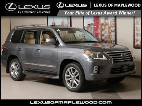 2014 Lexus LX 570 For Sale In Maplewood, MN