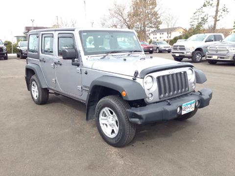 2015 Jeep Wrangler Unlimited for sale in Bemidji MN