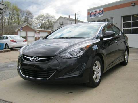 2014 Hyundai Elantra for sale in Cumberland, RI