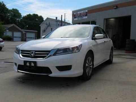 2013 Honda Accord for sale in Cumberland, RI