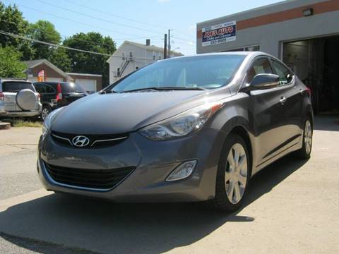 2012 Hyundai Elantra for sale in Cumberland, RI