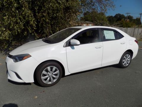 2015 Toyota Corolla for sale in Marshville, NC
