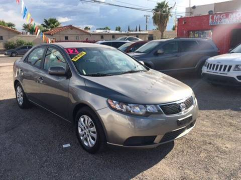 2012 Kia Forte for sale at MG Motors in Tucson AZ