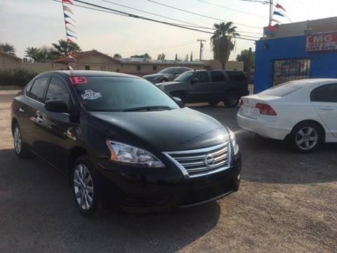 2015 Nissan Sentra for sale at MG Motors in Tucson AZ