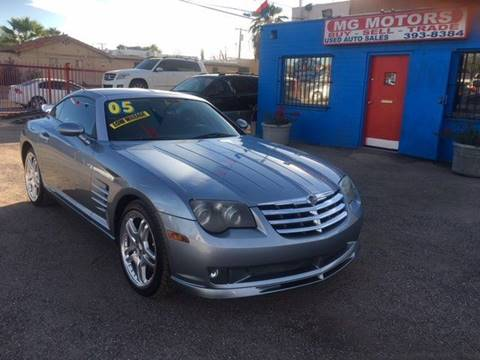chrysler crossfire srt6. 2005 chrysler crossfire srt6 for sale in tucson az srt6
